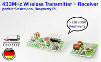 433MHz Wireless Transmitter + Receiver MX-FS-03V & MX-05 f. Arduino Raspberry Pi