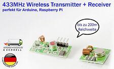 433mhz inalámbrico transmisor + receptor mx-fs-03v & mx-05 F. Arduino Raspberry Pi