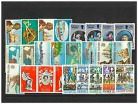 British Solomon Islands 25 Different Stamps All Complete Mint Sets MUH