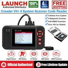 Launch Car Engine ABS SRS Transmission Diagnostic Tool OBD2 Scanner Code Reader