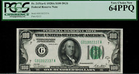 1928A $100 Federal Reserve Note - Chicago FR. 2151-G - Graded PCGS 64PPQ