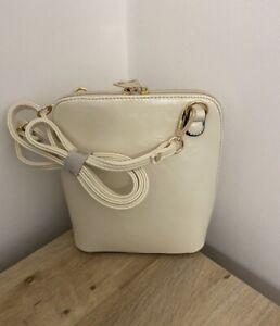 Bnwt Cream Crossbody Bag