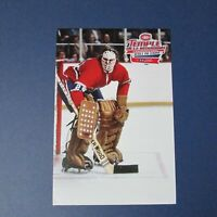 KEN DRYDEN Montreal Canadiens postcard Hall of Fame Loto Quebec 1970-71 The Mask