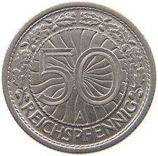 GERMANY 50 PFENNIG 1937 A TOP #a34 815