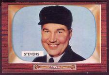 1955 BOWMAN JOHN W. STEVENS CARD NO:258 JS25 NEAR MINT