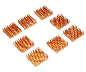 EverCool RHS-02 All Aluminum Chipset Heatsinks (8PK)