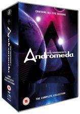 ANDROMEDA 1-5 (2000-2005)  Gene Roddenberry SciFi TV Series Season UK DVD not US