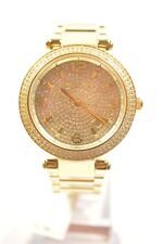 MICHAEL KORS MK6510 DARCI GOLD TONE CRYSTALS WOMEN'S WATCH