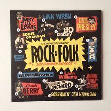 CD PROMO 12 EXTRAITS DU COFFRET ROCK & FOLK