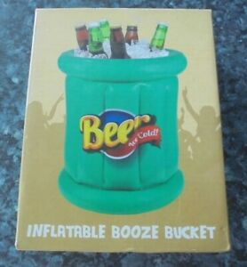 New in Box Inflatable Festival Beer Bucket camping holidays
