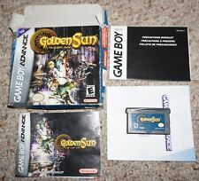 Golden Sun Lost Age (Nintendo Game Boy Advance GBA) Complete in Box FAIR GameBoy