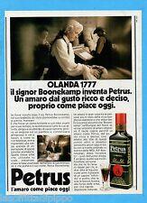 QUATTROR982-PUBBLICITA'/ADVERTISING-1982- PETRUS BOONEKAMP - L'AMARO