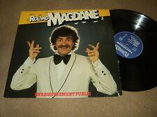"""@ ROLAND MAGDANE 33 TOURS LP 12"""" FRANCE ENREGISTREMENT PUBLIC"""