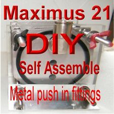 HHO DIY MAXIMUS 21 PLATE  DRY CELL  BUILD IT YOURSELF QUICK RELEASE GENERATOR