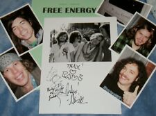 FREE ENERGY Autographed Photo &Photos/-REAL HOT BAND