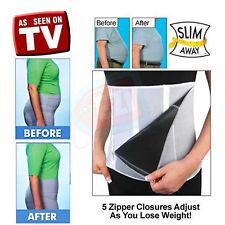 Adjustable Zipped Slimming Sauna Belt Body Wrap Zip Weightloss Fitness Exercise