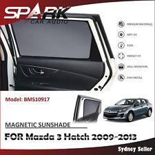 SP MAGNETIC CAR WINDOW SUN SHADE BLIND REAR DOOR FOR MAZDA 3 HATCH 2009-2013