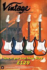 More details for vintage guitar advert - 1997 by j.h.s encore advertisement