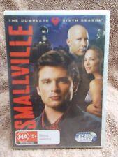 SMALLVILLE COMPLETE SIXTH SEASON  6 DISC BOXSET  DVD MA R4