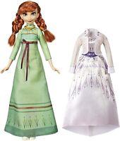 Disney Frozen 2 Anna Arendelle Mode Classique Poupée & Costume Set Hasbro