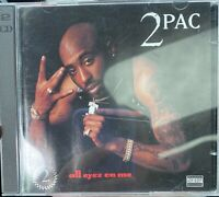 2Pac All Eyez On Me CD Hip Hop Rap Double CD 2 Pac