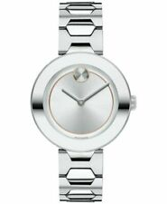 Movado 3600381 Bold Stainless Steel Women's Bracelet Watch 32mm - Silver