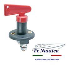 Stacca batteria 100/300amp nautico barca boat auto con chiavetta antifurto NEW!