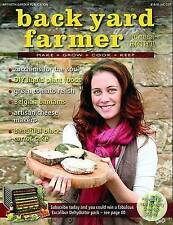 Back Yard Farmer  Volume 8 2011 Earth Garden Instock as new recipes organic tips