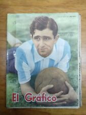 EL GRAFICO # 1932 ARGENTINA 1956 MAGAZINE ORESTES OMAR CORBATTA ON COVER RACING