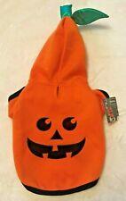 Pumpkin Dog Hoodie Sweatshirt - SMALL - Jack-O-Lantern - Halloween - NWT