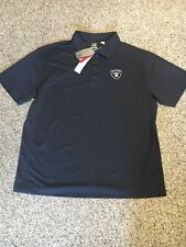 NWT Cutter & Buck NFL Oakland Raiders DryTec Polo Men's 2XB