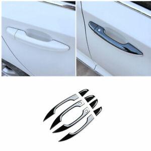 For Honda Accord DX 2018-2021 Black Steel Exterior Side Smart Door Handle Trim