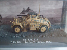 Sd.kfz.222, 10.pz.div. Tunisi (Tunesia) 1943, Rivista Militare modello 1:72