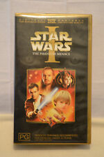 Star Wars The Phantom Menace VHS Great Condition.