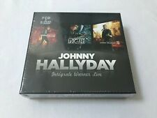 Johnny Hallyday Intégrale Warner Live Coffrer de 12cd