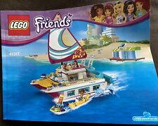 Lego Friends Sunshine Catamaran (41317), Never Built, No Box