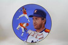 Nolan Ryan The Houston Astros Collector Plate, Hackett American Collectors