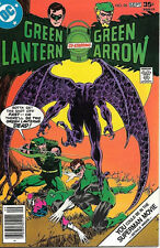 Green Lantern Green Arrow Comic Book #96, DC Comics 1977 FINE+