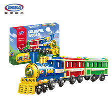 XingBao Building Blocks XB-01112 Colourful World,Mini Train,369 Pieces