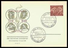 GERMANY MK 1960 OLYMPICS OLYMPIA OLYMPIC GAMES CARTE MAXIMUM CARD MC CM cy21