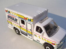 WHITE 2009 Ford F-350 Santa Ursula Ambulance.  LOOSE Fresh Out of the Box!
