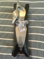 Decadent Diva Wedding Cake High Heel Cake Server Shower metal