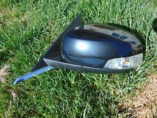 2009 Jaguar XF Power Mirror w/ Auto Dim Blind Spot Alert 17 Wire Plug Black OEM