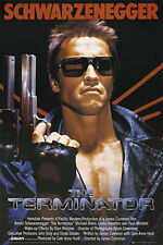 "THE TERMINATOR - ARNOLD SCHWARZENEGGER 91 x 61 cm 36"" x 24"" MOVIE POSTER"
