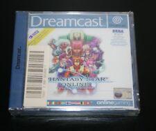 Phantasy Star Online Dreamcast Sega Neuf sous blister sealed pal