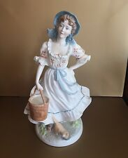 Limited Edition Figurine - The Milkmaid ROYAL WORCESTER
