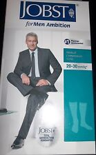JOBST for Men Ambition Knee High Compression Socks 20-30 mmHg (Khaki) Sz 5 Long