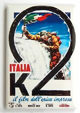 Italia K2 FRIDGE MAGNET (2.5 x 3.5 inches) movie poster mountain climbing