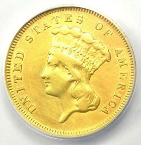 1878 Three Dollar Indian Gold Coin $3 - Certified ANACS XF40 Detail - Rare Coin!