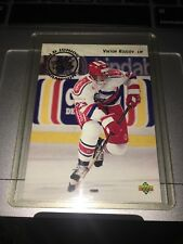 1992-93 Upper Deck #613 Viktor Kozlov Rookie Hockey Card NHL Russia